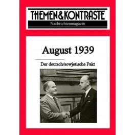 """Themen & Kontraste""  August 1939 - kostenfreies Musterheft"